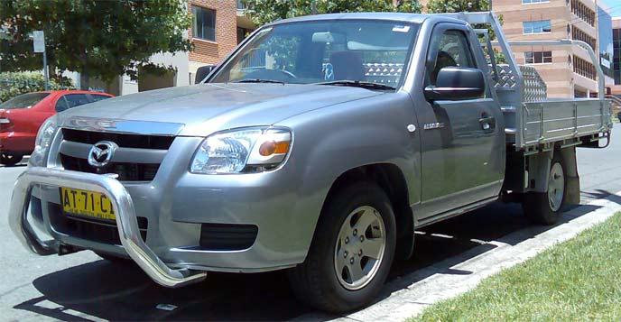 初代BT-50(2006~2011)