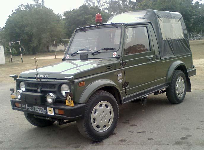 ジプシー 軍用車両
