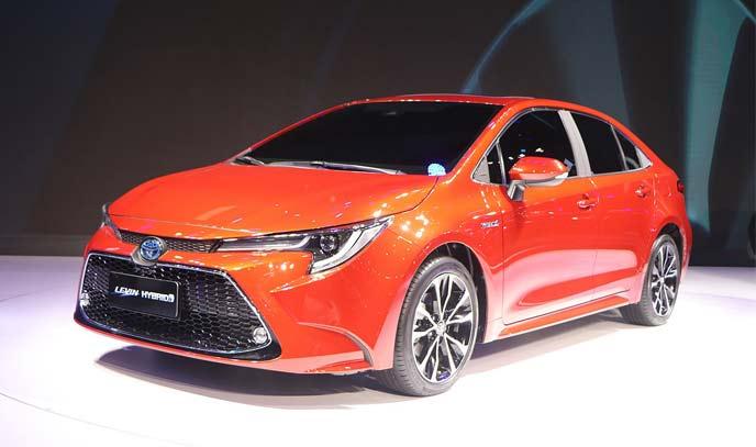 中国の広汽トヨタで販売されているレビンのハイブリッド仕様
