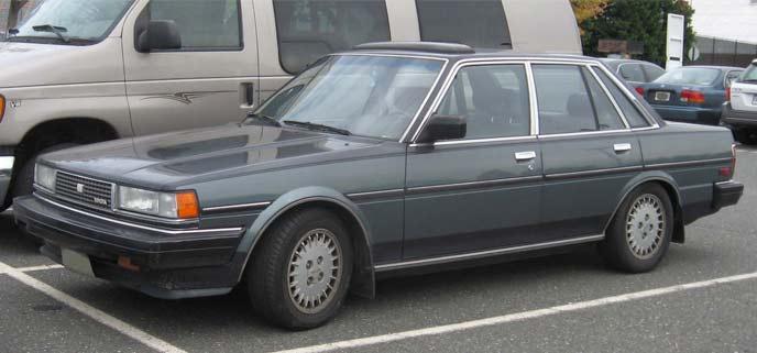 3代目クレシーダ MX73型 北米仕様車