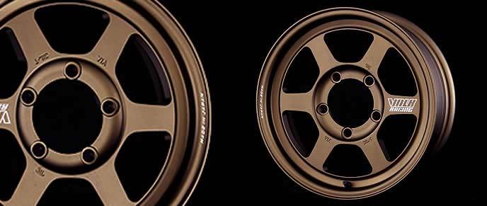 ランドクルーザー70におすすめのレイズ TE37 X Progressive modelのホイール