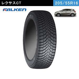 レクサスCTにおすすめのFALKEN ESPIA W-ACE 205/55R16 91Hのスタッドレスタイヤ