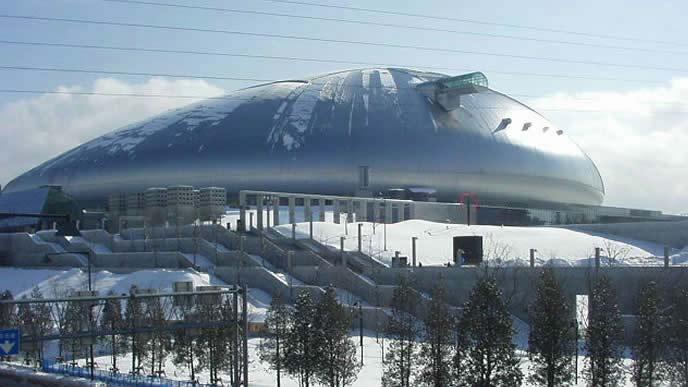 札幌モーターショー2020が行われる札幌ドーム