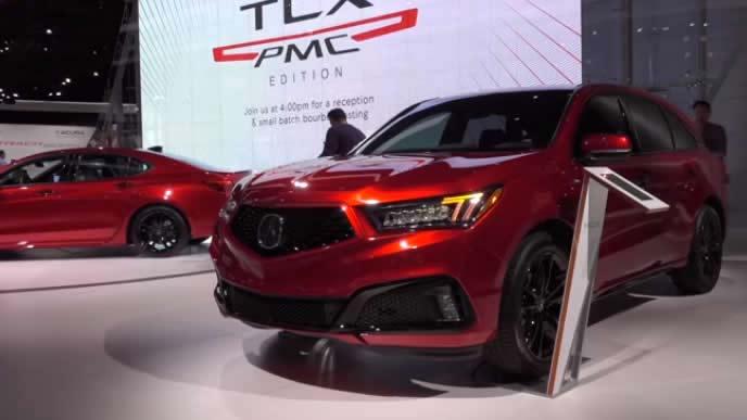日本の自動車メーカーも出展するニューヨーク国際オートショーの様子