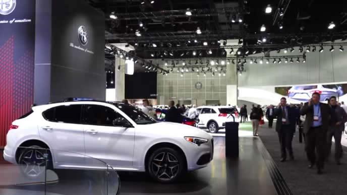 注目の新型車が多数展示されるロサンゼルスオートショー