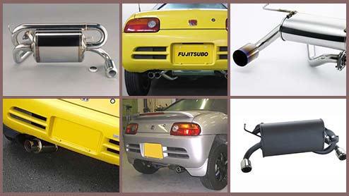 ビートのマフラーとマフラーカッター14選 交換におすすめの人気商品