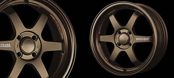 デリカD2におすすめのレイズ ボルクレーシングTE37 KCR BZ Editionのホイール