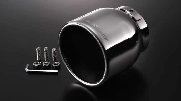 デミオにおすすめのシルクブレイズ デミオDJ5系 ディーゼル 真円マフラーカッター