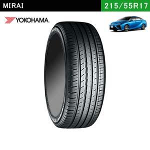 MIRAIにおすすめのYOKOHAMA BluEarth-GT AE51 215/55R17 98Wのタイヤ