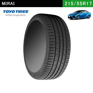 MIRAIにおすすめのTOYO TIRES PROXES Sport 215/55ZR17 (98Y) XLのタイヤ