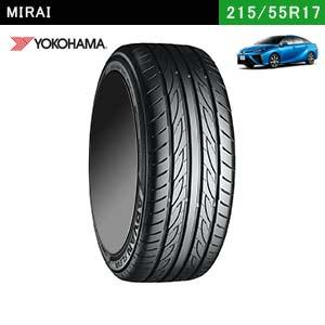 MIRAIにおすすめのYOKOHAMA ADVAN FLEVA V701 215/55R17  94Wのタイヤ