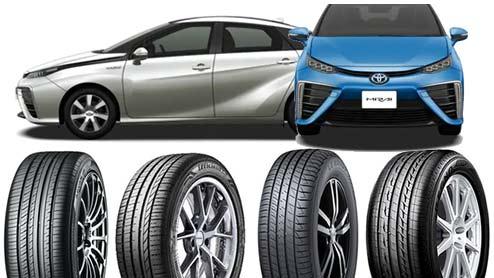 トヨタMIRAIのタイヤ~静粛性や操安性の高い低燃費タイヤ10選