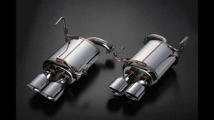 WRXS4におすすめのSTI(スバルテクニカインターナショナル)  パフォーマンスマフラー 低背圧