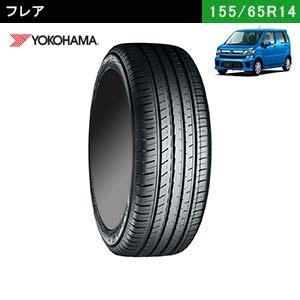 フレアにおすすめのYOKOHAMA BluEarth-GT AE51 155/65R14 75Hのタイヤ