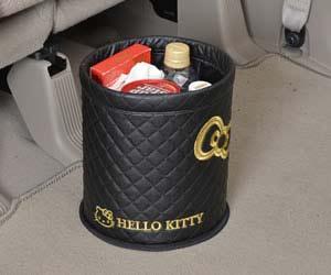 おすすめ車内用ごみ箱のSEIWA ハローキティ ダストボックス KT491