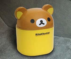 おすすめ車内用ごみ箱の明邦 マスコットダスト リラックマ RK60