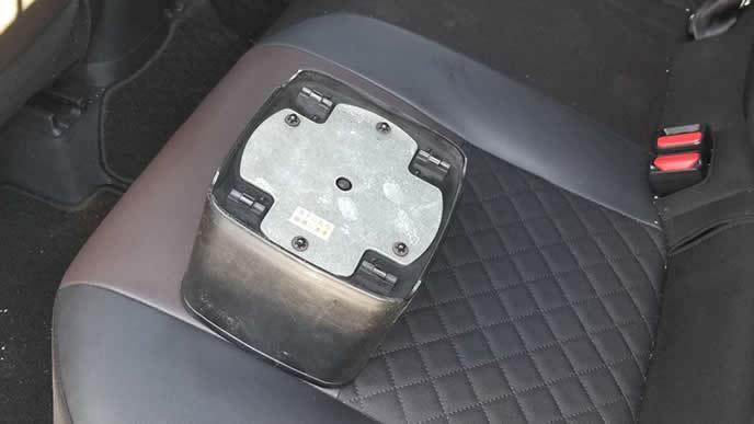 車内用ゴミ箱の重り