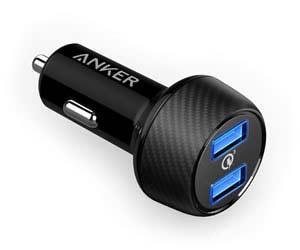 おすすめのカーチャージャーAnker PowerDrive Speed 2