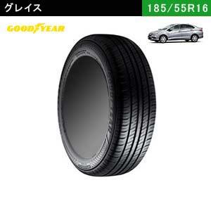グレイスにおすすめのGOODYEAR EfficientGrip ECO EG02 185/55R16 83Vのタイヤ