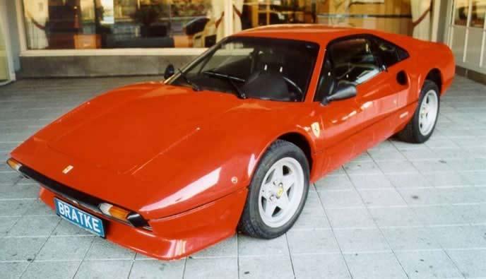 フェラーリ 308GTBのエクステリア