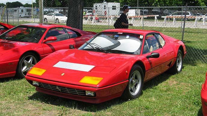 フェラーリ512BBのエクステリア