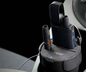 車用灰皿のおすすめCigallia ALL  IN ONE 充電スタンド 3R‐CIQ06