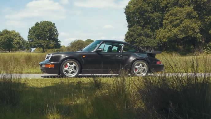 911ターボ3.6のエクステリア