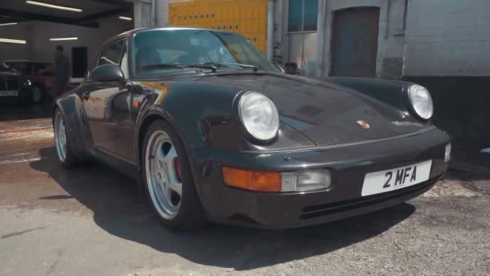 911ターボ3.6(964型)のエクステリア
