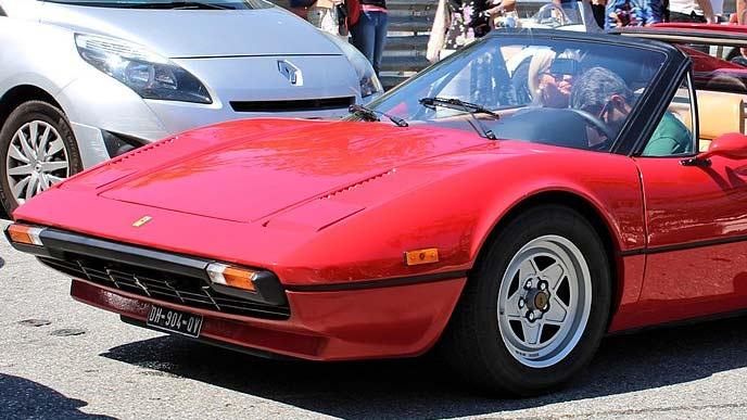 フェラーリ・308GTSのエクステリア