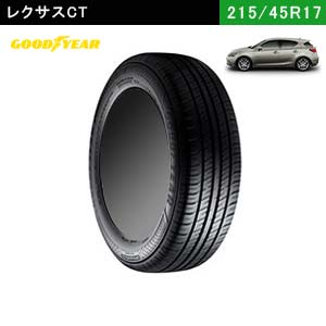 レクサスCTにおすすめのGOODYEAR EfficientGrip ECO EG02 215/45R17 91W XLのタイヤ