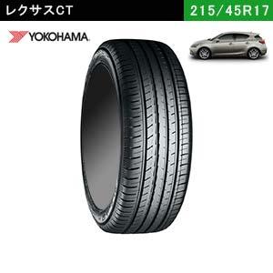 レクサスCTにおすすめのYOKOHAMA BluEarth-GT AE51 215/45R17 91W XLのタイヤ