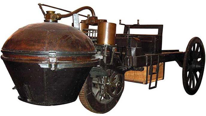 キュニョーの砲車