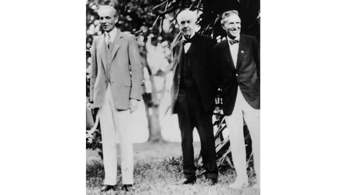 トーマス・エジソンとヘンリー・フォード