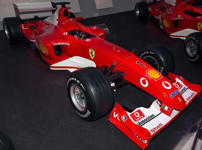 フェラーリF2003-GAのエクステリア