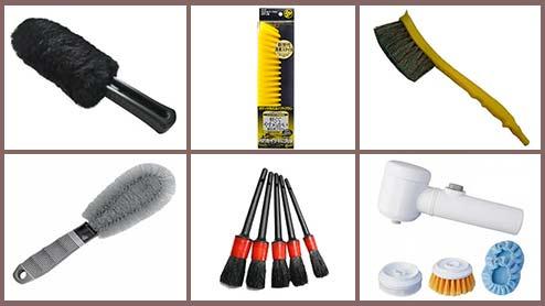 洗車ブラシのおすすめ商品12選~ボディ用やホイール用の特徴も比較