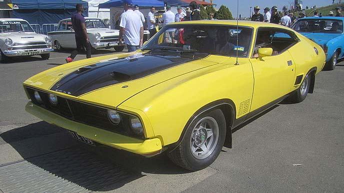フォード・ファルコンXB GTのエクステリア