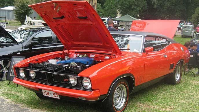 フォード・ファルコンXB GT ハードトップのエクステリア