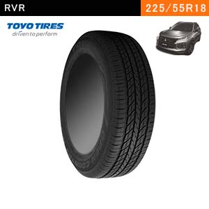RVRにおすすめのTOYO TIRES OPEN COUNTRY U/T 225/55R18 98Vのタイヤ