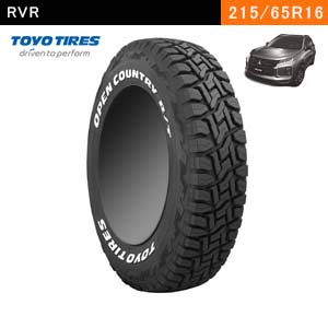 RVRにおすすめのTOYO TIRES OPEN COUNTRY R/T 215/65R16C 109/107Qのタイヤ