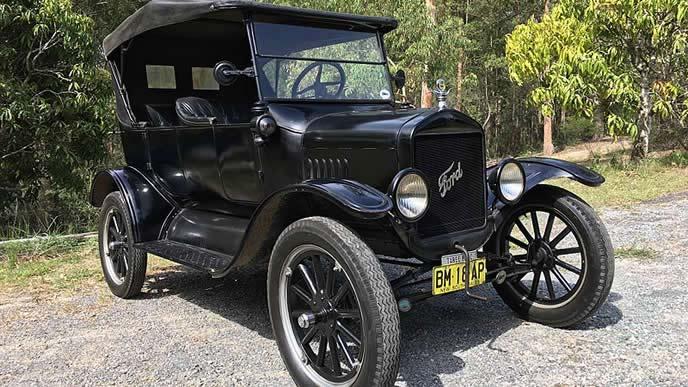 フォード・モデルTのエクステリア