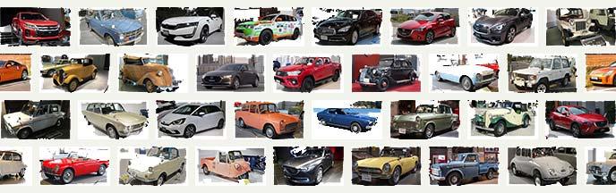 日本車の写真
